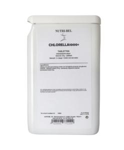 Chlorella1000+ supplement nutri-bel