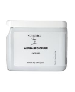 Alphalipoiczuur supplement nutri-bel