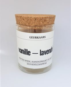 Geurkaars vanille lavendel