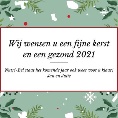 Goede voornemens 2021 Nutri-Bel