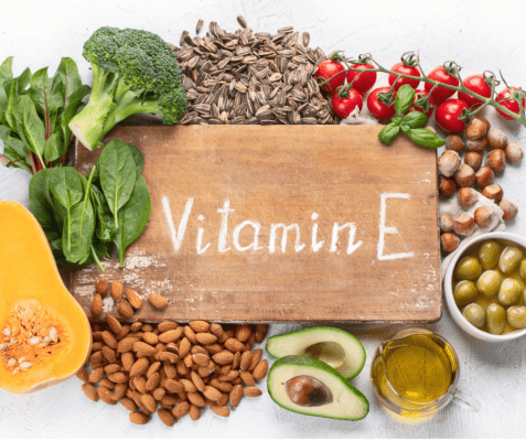 Vitamine E antioxidant