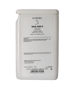 DHA-XXII-C supplement nutri-bel