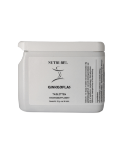 Ginkgoflas supplement nutri-bel