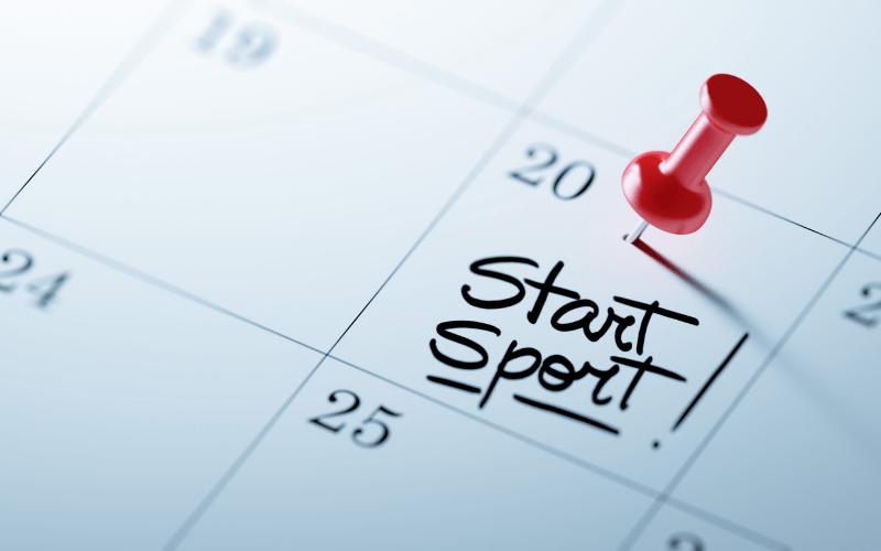 Blijf in beweging en sport thuis